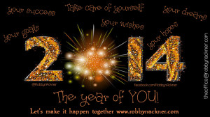 The year of YOU