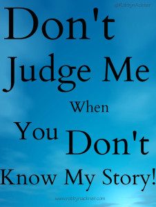 Dont judge story